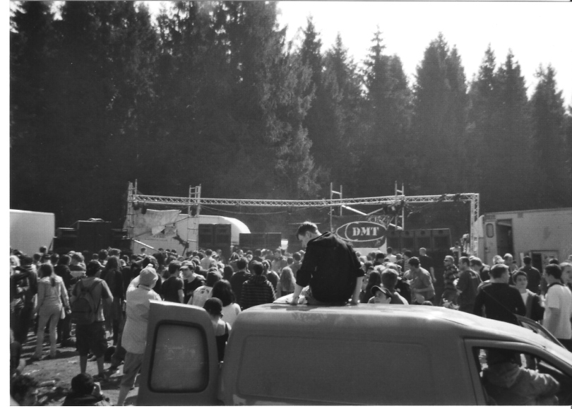 Rave in Wales wentwood techno party